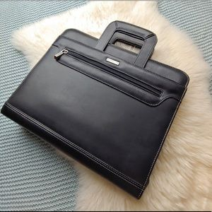 Franklin Covey Leather Portfolio 3-ring